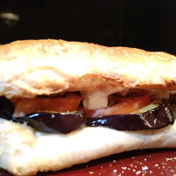 Receita de Sanduíches de Berinjela