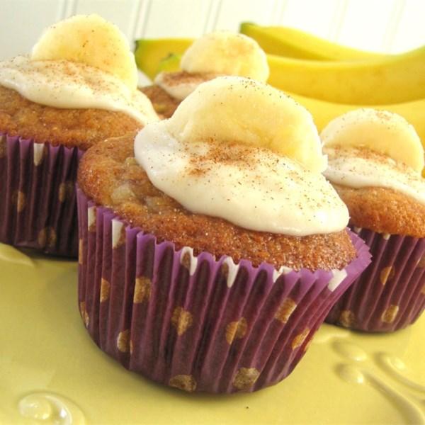 Receita de Cupcakes de Banana da Maçã