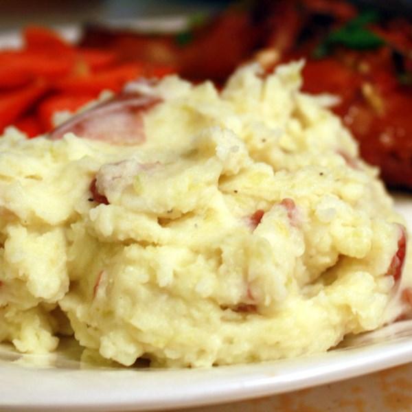 Receita de Purê de Batatas Vermelhas de Suzy