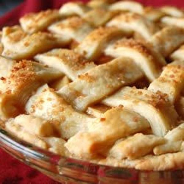 Sem receita de torta de maçã de açúcar