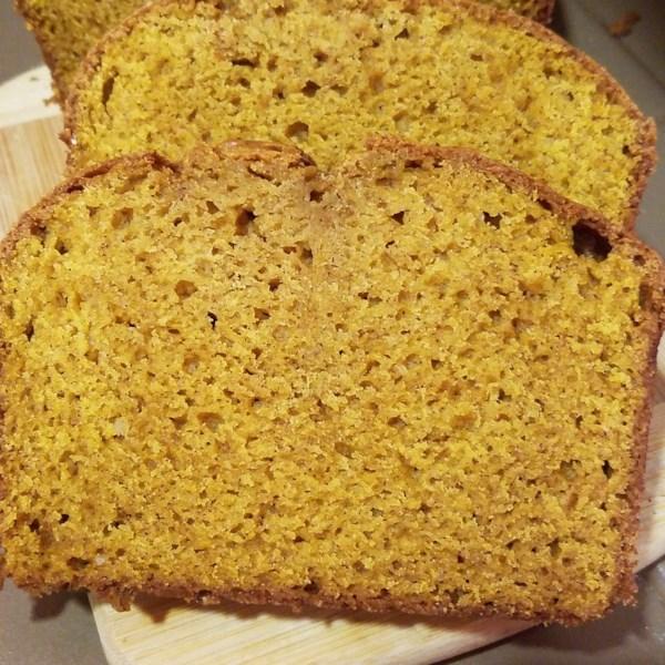Receita de Pão de Abóbora