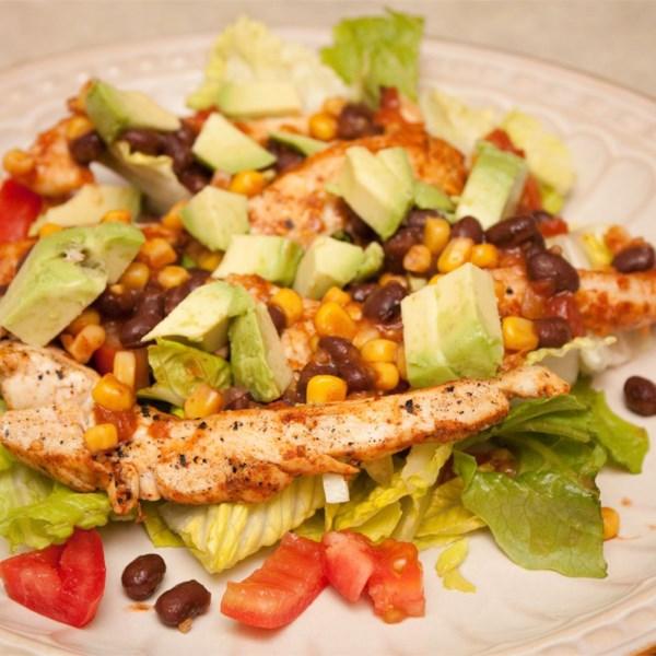Receita de Salada de Frango Fiesta