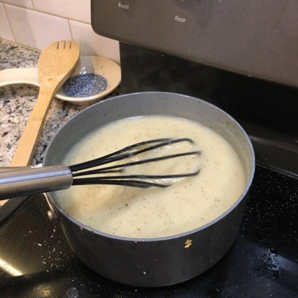 Receita clássica de molho de giblet de peru
