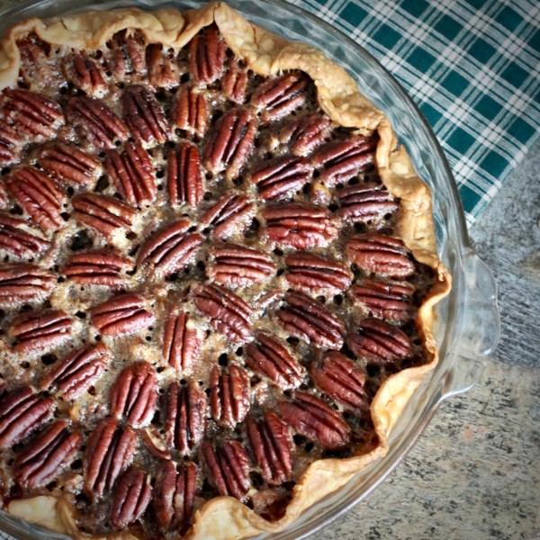 Receita de Torta de Nozes de Bourbon de Chocolate