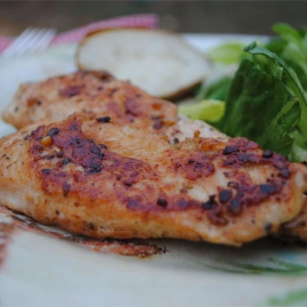 Uma boa receita de frango de alho fácil