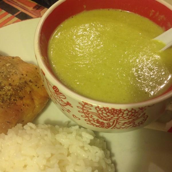 Receita de Sopa de Aspargos Frescas
