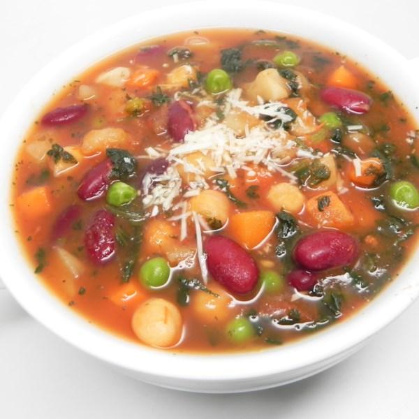 Receita de Sopa de Minestrone de Batata Marrom De Haxixe