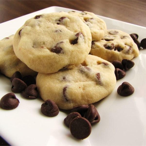 Receita de Biscoitos de Chocolate de Pão Curto de Tina