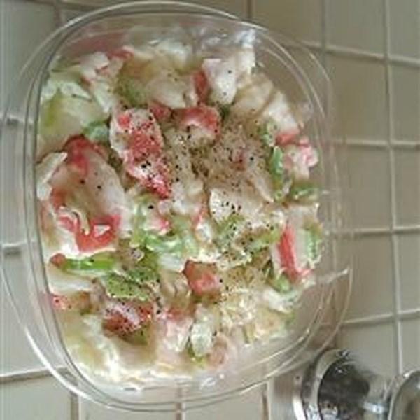 Receita de Salada de Caranguejo de 5 Ingredientes