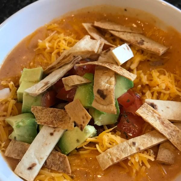 Receita de Frango Enchilada Soup II