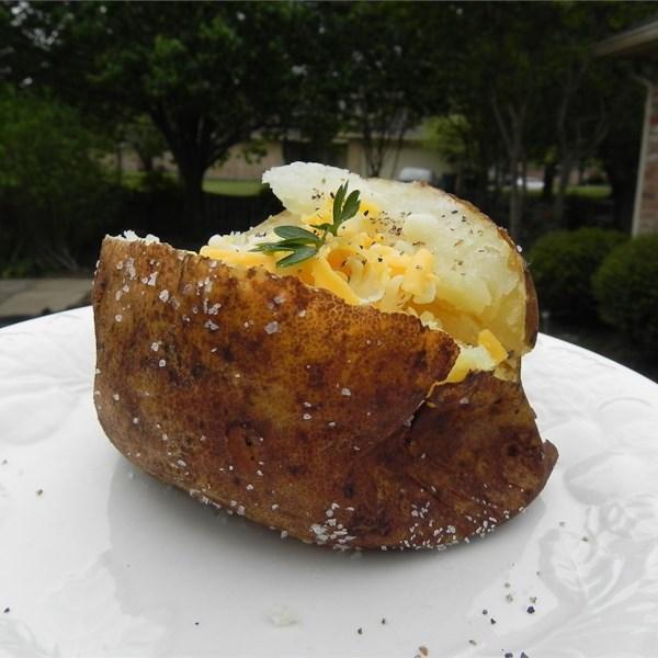 Receita perfeita de batata assada