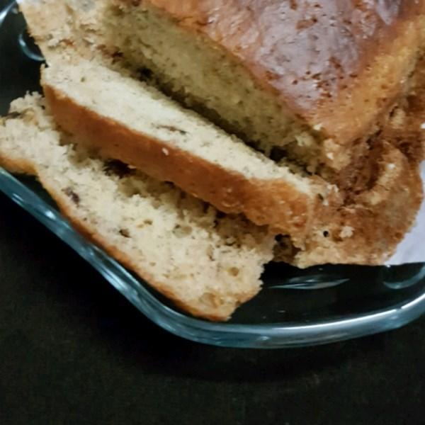 Receita de Pão de Banana de Chocolate com Manteiga de Amendoim