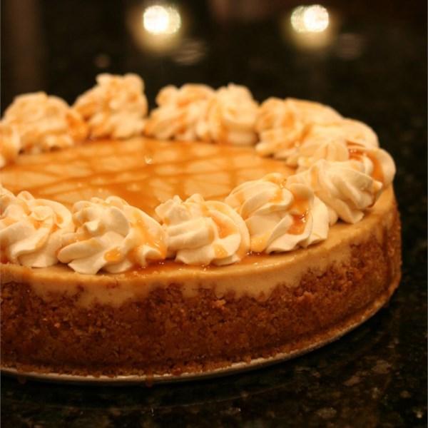 Receita de Cheesecake de Caramelo Macchiato