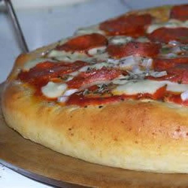 Crosta de Pizza para a Receita da Máquina de Pão II