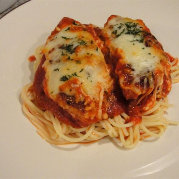 Receita de Parmesão de Frango ao Tomate