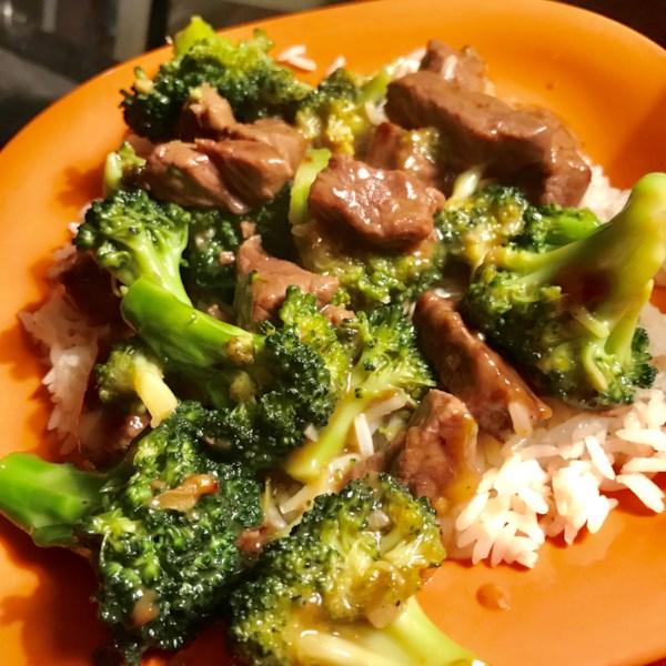 Receita de Brócolis Beef I