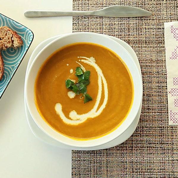 Receita de Cenoura e Sopa de Coriander II