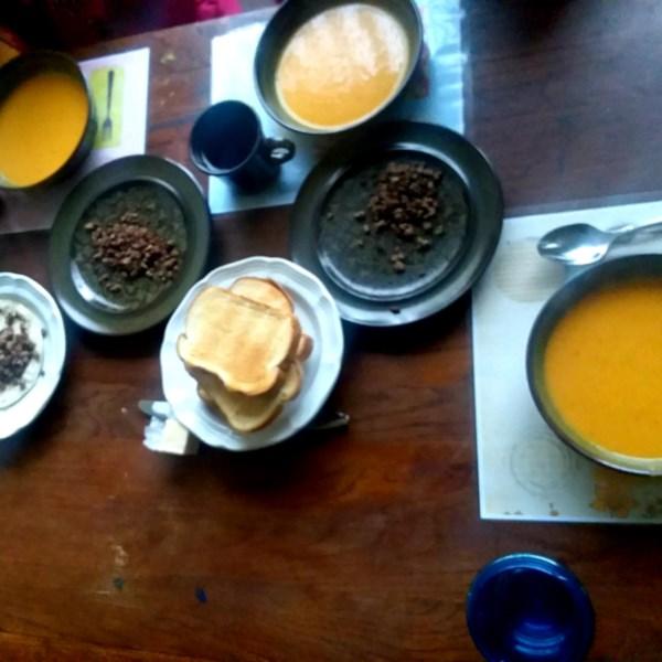 Receita de Sopa de Creme de Cenoura