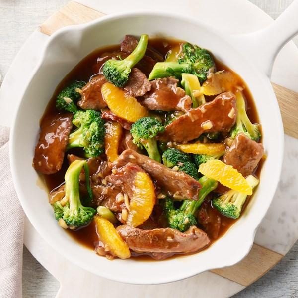 Receita campbell's(R) de carne bovina e laranja