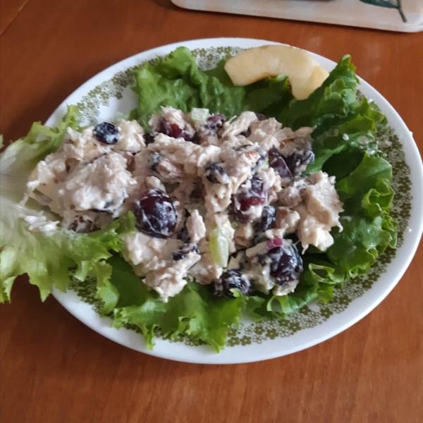 Simplesmente a melhor receita de salada de frango Waldorf