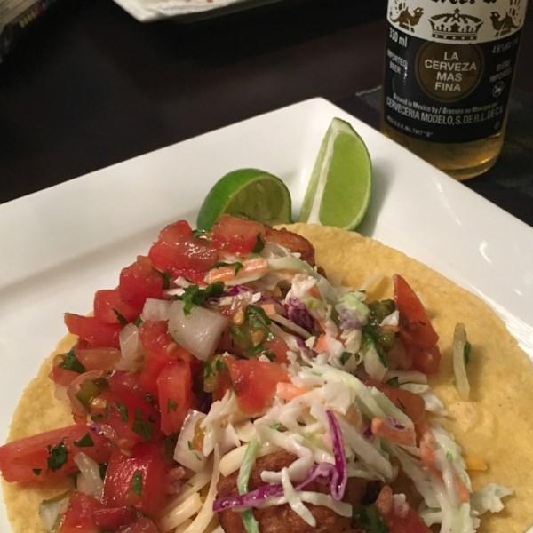 Receita de Tacos de Peixe Estilo Baja