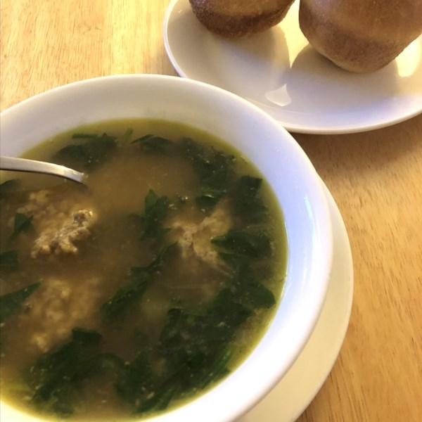 Receita de Sopa de Casamento Italiana da Mamãe