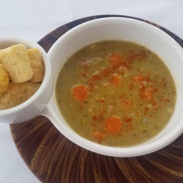 Receita perfeita de sopa de ervilha split