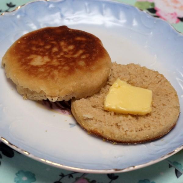 Receita de Muffins Ingleses de Trigo Integral de Mel