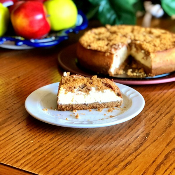 Receita de Cheesecake de Torta de Maçã