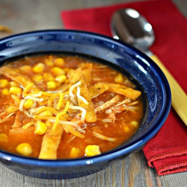 Receita de Sopa de Frango e Tortilla De Pote Instantâneo (R)