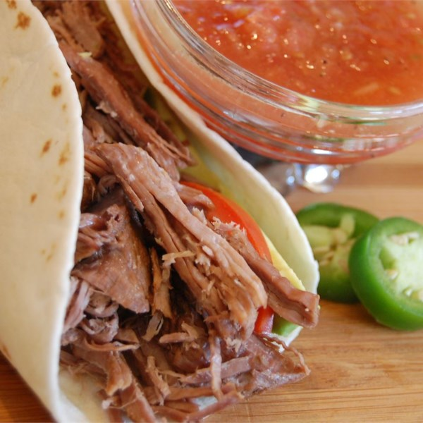 Receita de carne mexicana desfiada incrível de Kris
