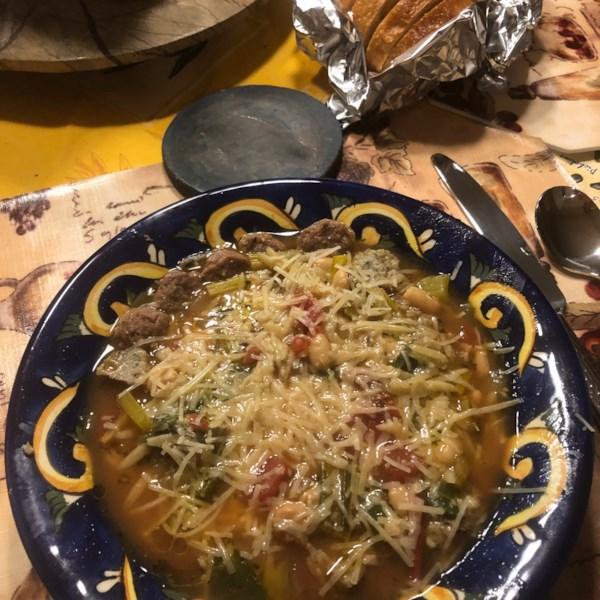 Receita de Sopa de Ato de Acosa da Toscana e Cannellini