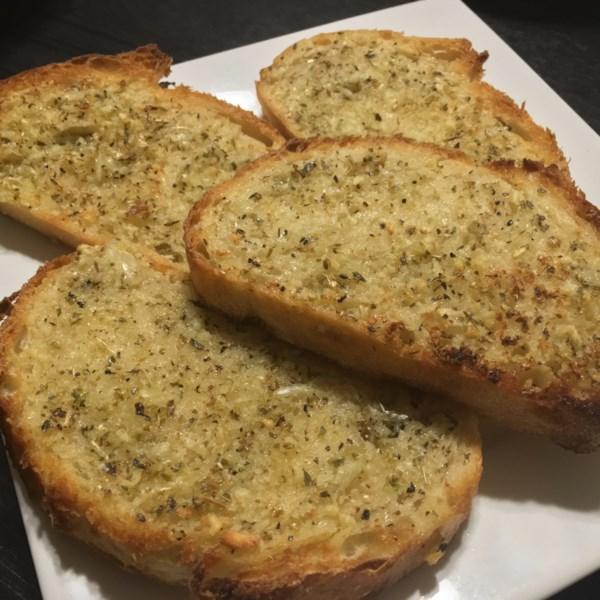 Receita de Pão de Alho Torrado