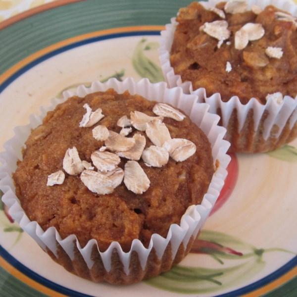 Receita de Muffins de Batata Doce de Cenoura