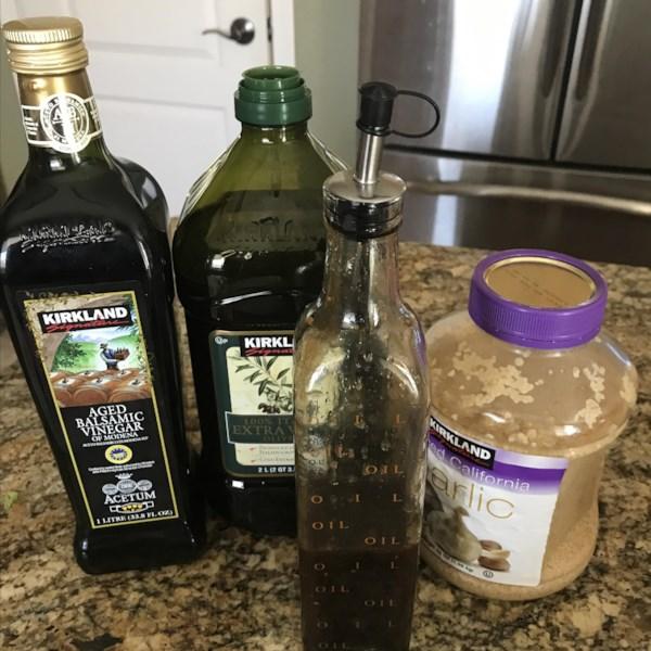 Nossa receita de vinagrete balsâmico favorito