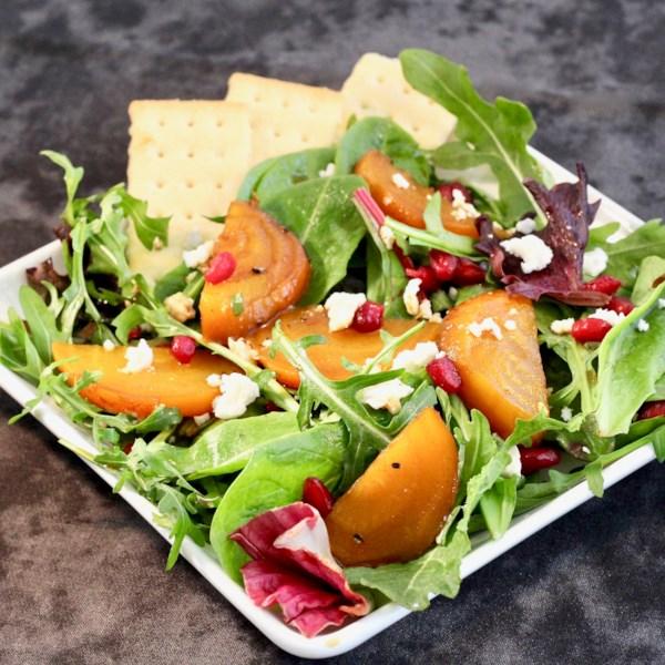 Receita de Salada de Beterraba Assada