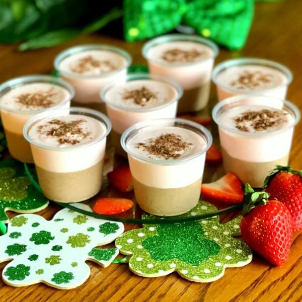 Receita de Fotos de Pudim de Chocolate-Morango-Baileys(R)