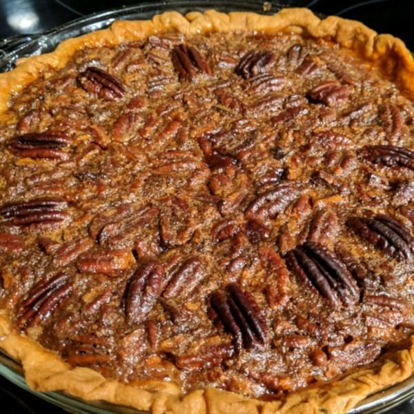 Receita de Torta de Nozes de Chocolate de Nova Orleans