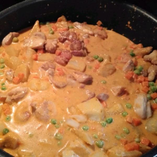Receita de Curry Panang