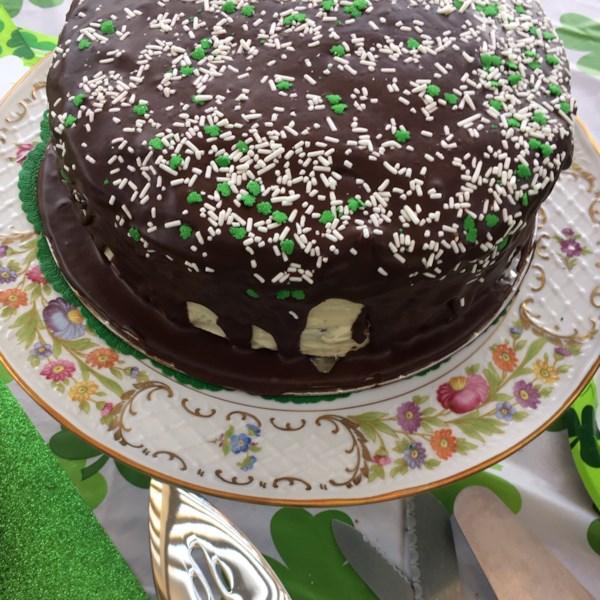 Receita perfeita de bolo do Dia de São Patrício