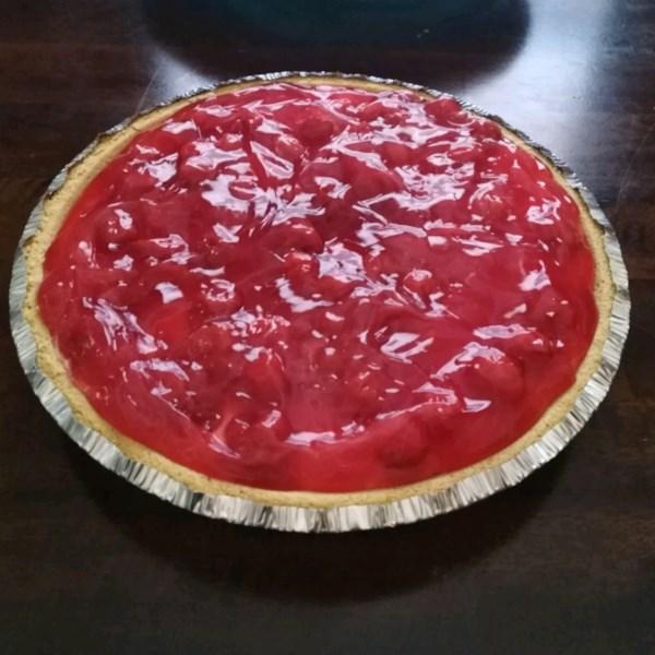 Receita de Torta de Queijo cereja I