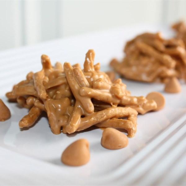 Receita de Palheiros de Manteiga de Amendoim