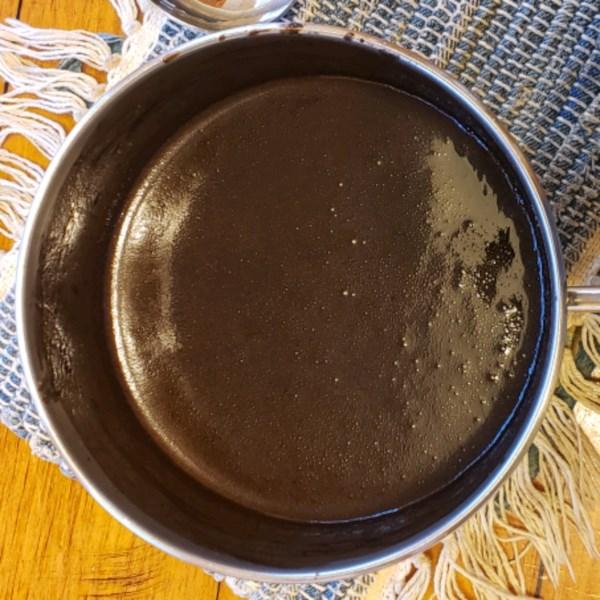 Receita de Molho de Chocolate I