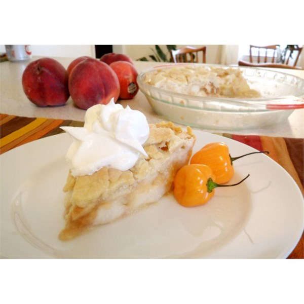 Receita de Torta de Pêssego Quente de Greg