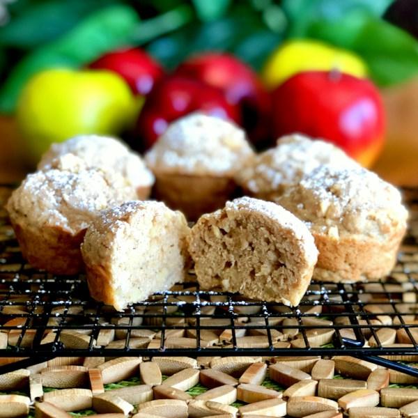 Receita de Muffins Maple Brekkie de alta fibra