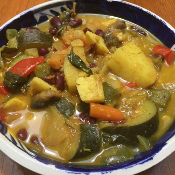 Receita de Curry Vegetal de Marrakesh