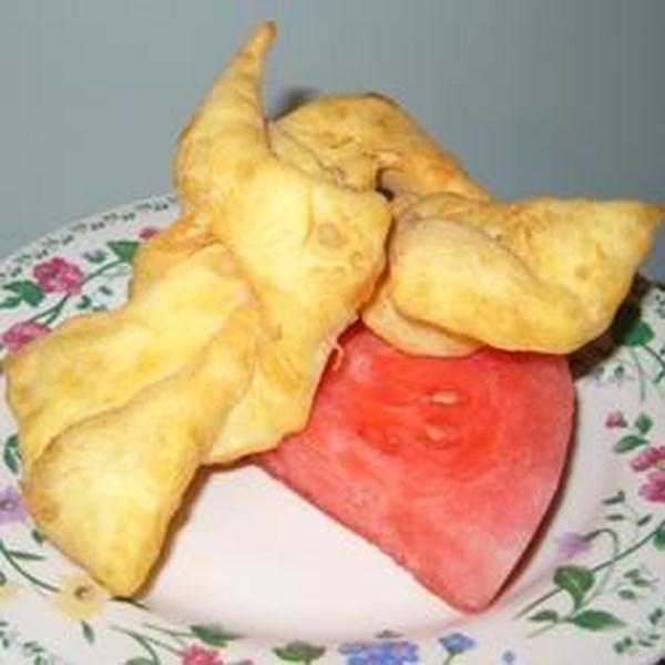 Receita de Rollkuchen (Mennonite Fritters)