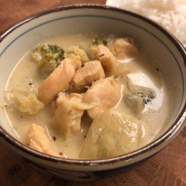 Receita de Curry Verde Tailandês