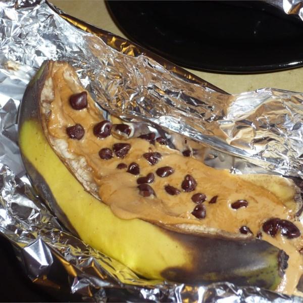 Receita de Melties de Banana de Manteiga de Amendoim