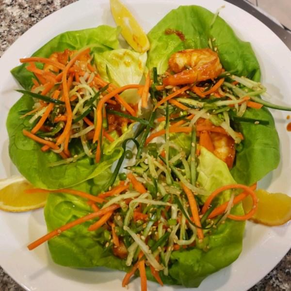 Receita de Camarão Gochujang-Manteiga